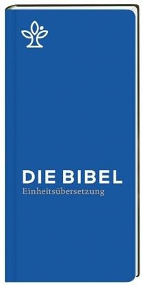 Die Bibel. Einheitsübersetzung, Taschenausgabe, hohes Brevierformat blau