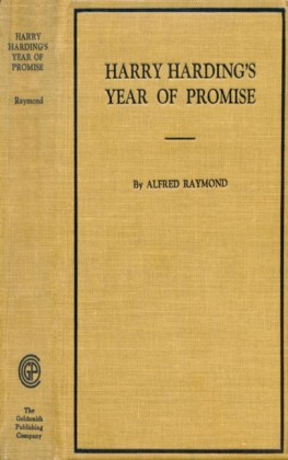Harry Harding's Year of Promise
