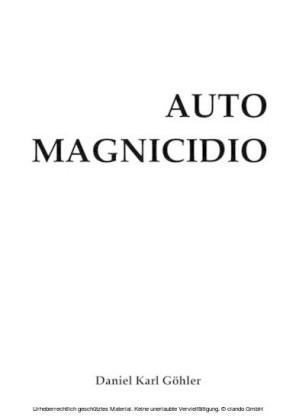 AUTOMAGNICIDIO