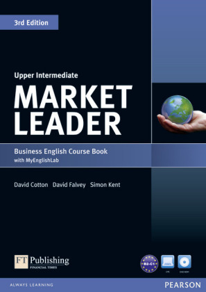 Market Leader 3rd Edition Upper Intermediate Coursebook with DVD-ROM and MyLab Access Code Pack, m. 1 Beilage, m. 1 Onli