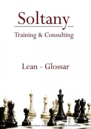 LEAN - Glossar