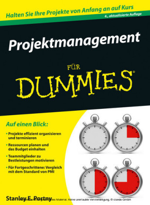 Projektmanagement fur Dummies
