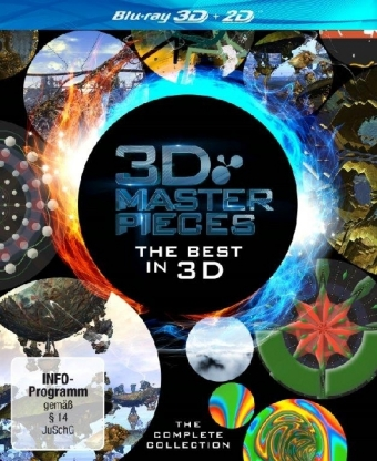 3D Masterpieces - The Best in 3D, 1 Blu-ray
