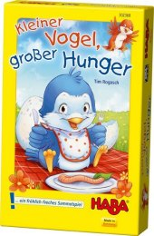 Kleiner Vogel, großer Hunger (Kinderspiel) Cover