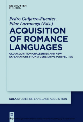 Acquisition of Romance Languages