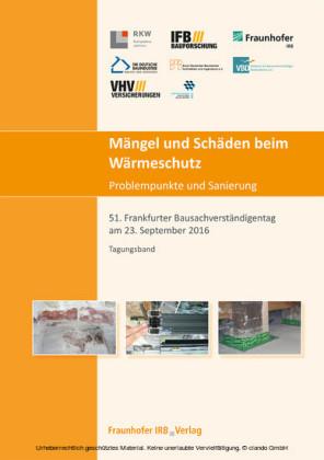 Mängel und Schäden beim Wärmeschutz. Problempunkte und Sanierung.