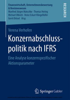 Konzernabschlusspolitik nach IFRS