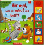 Hör mal, wer da miaut und bellt!, m. Soundleiste Cover