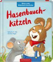 Meine erste Bilderbuch-Geschichte: Hasenbauchkitzeln Cover