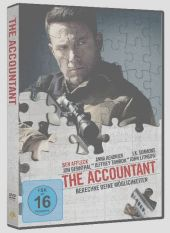 The Accountant, 1 DVD Cover