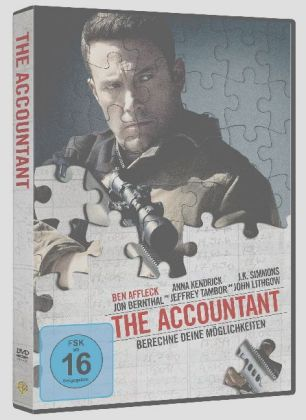 The Accountant, 1 DVD