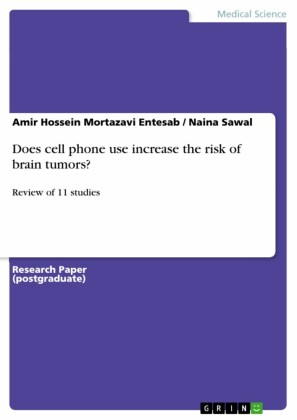 Does cell phone use increase the risk of brain tumors?