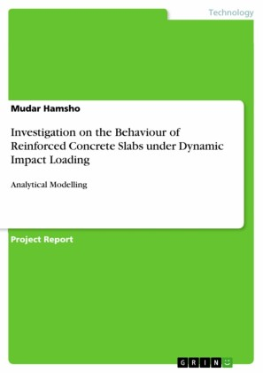 Investigation on the Behaviour of Reinforced Concrete Slabs under Dynamic Impact Loading