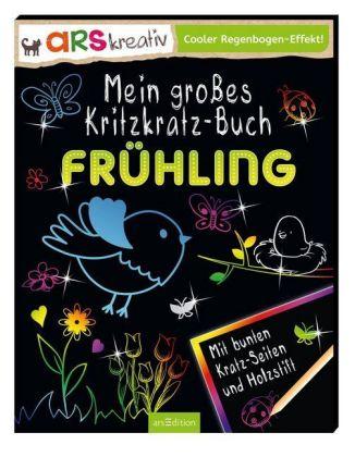 Mein großes Kritzkratz-Buch Frühling