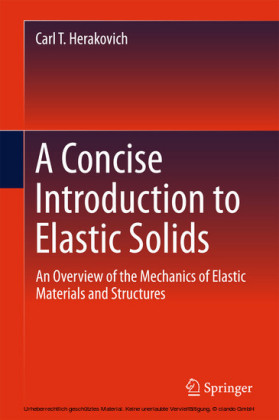 A Concise Introduction to Elastic Solids