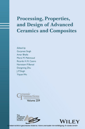 Processing, Properties, and Design of Advanced Ceramics and Composites