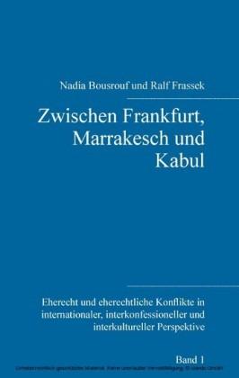Zwischen Frankfurt, Marrakesch und Kabul