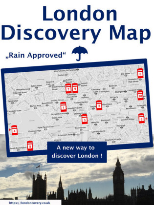 London Discovery Map - a different London guide
