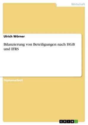 Bilanzierung von Beteiligungen nach HGB und IFRS.