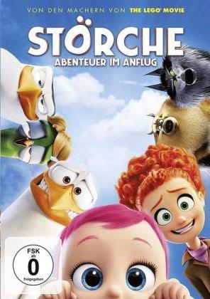 Störche - Abenteuer im Anflug, 1 DVD