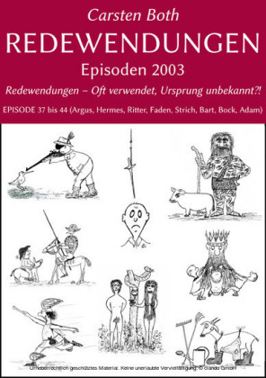 Redewendungen: Episoden 2003