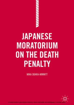 Japanese Moratorium on the Death Penalty