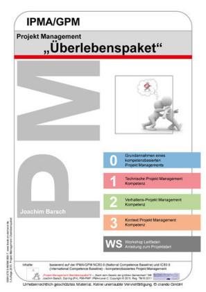 Projekt Management IPMA/GPM Überlebenspaket