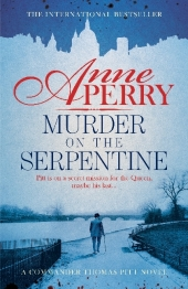 Murder on the Serpentine Cover