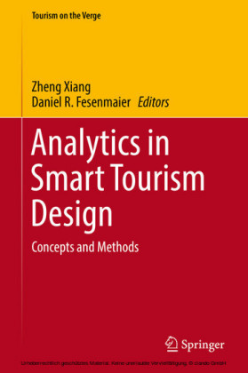 Analytics in Smart Tourism Design