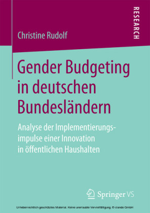 Gender Budgeting in deutschen Bundesländern