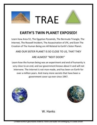Trae: Earth's Twin Planet Exposed!