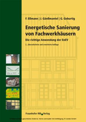 Energetische Sanierung von Fachwerkhäusern.