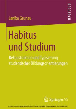 Habitus und Studium