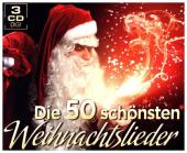 Die 50 schönsten Weihnachtslieder, 3 Audio-CDs
