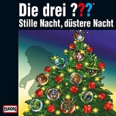 Die drei ??? Adventskalender - Stille Nacht, düstere Nacht, 3 Audio-CDs Cover