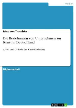 Die Beziehungen von Unternehmen zur Kunst in Deutschland