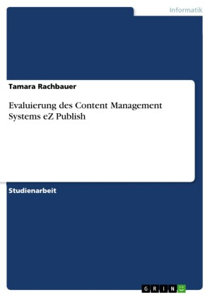 Evaluierung des Content Management Systems eZ Publish