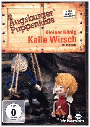 Augsburger Puppenkiste - Kleiner König Kalle Wirsch, 1 DVD