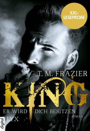XXL-Leseprobe: King - Er wird dich besitzen