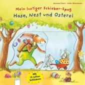 Mein lustiger Schieber-Spaß. Hase, Nest und Osterei Cover