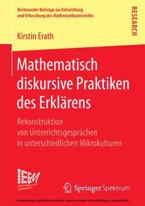 Mathematisch diskursive Praktiken des Erklärens