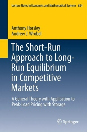 The Short-Run Approach to Long-Run Equilibrium in Competitive Markets