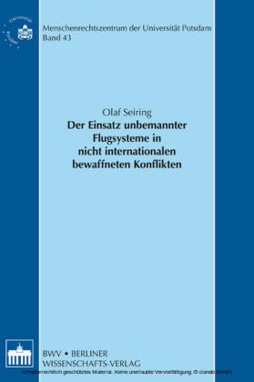 Der Einsatz unbemannter Flugsysteme in nicht internationalen bewaffneten Konflikten