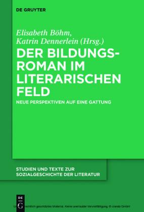 Der Bildungsroman im literarischen Feld