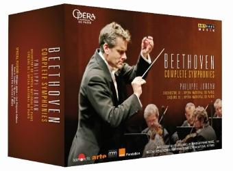 Complete Symphonies, 4 DVDs