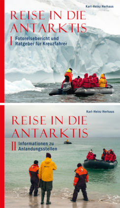 Reise in die Antarktis, 2 Bde. m. CD-ROM