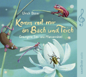 Komm mit mir an Bach und Teich, 1 Audio-CD Cover