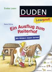 Mit Bildern lesen lernen: Ein Ausflug zum Reiterhof, Erstes Lesen Cover