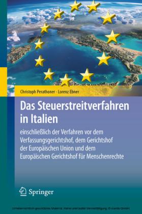 Das Steuerstreitverfahren in Italien