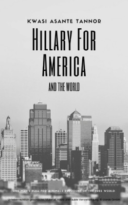 Hillary for America and for the World